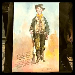 Authentic Billy the Kid by NM artist Ed Larson